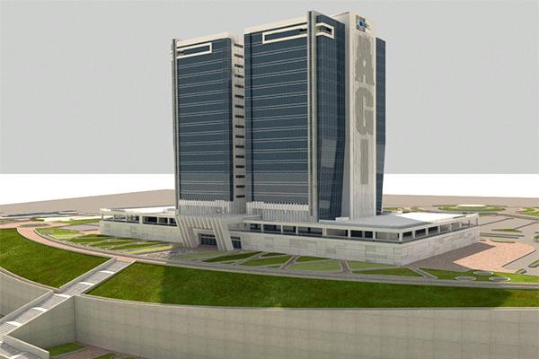 Qeshm Alphabet Office Towers Project