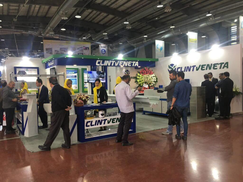 Clint venta attends the 18th International Exhibition of Facilities