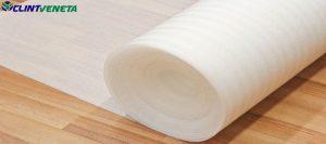 Silent foam insulation